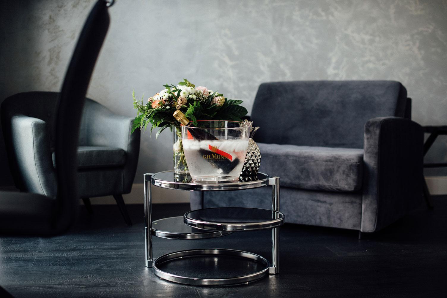 Suite Balnéo champagne fleurs | Amirauté Hôtel La Baule