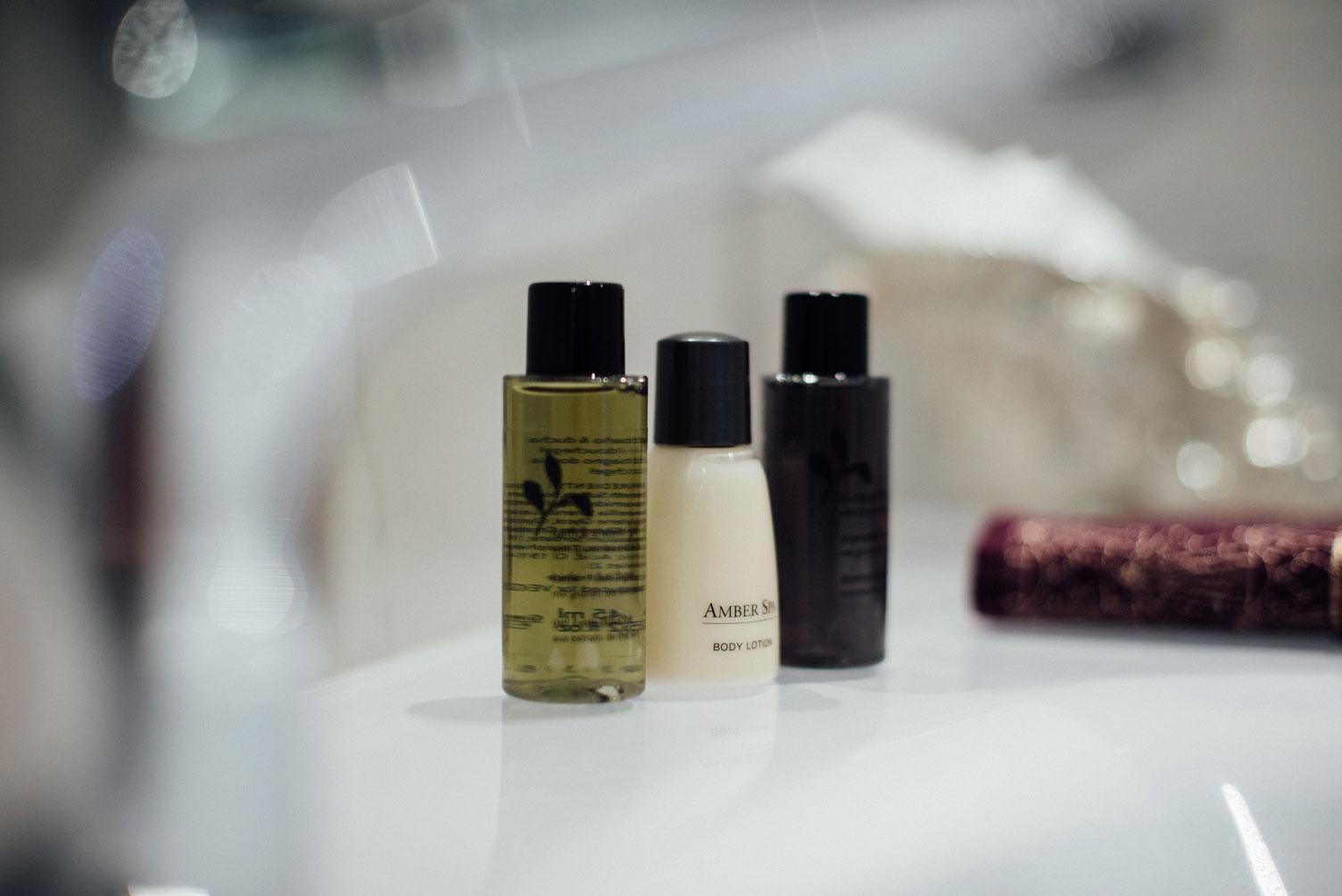 Suite Balnéo produits hygiène ecoresponsables | Amirauté Hôtel La Baule