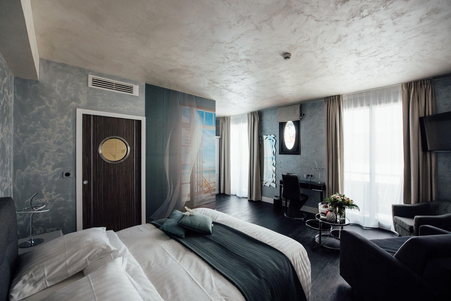 Suite Balnéo vue d'ensemble | Amirauté Hôtel La Baule