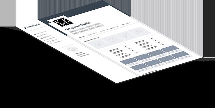 wireframe venture design untaylored