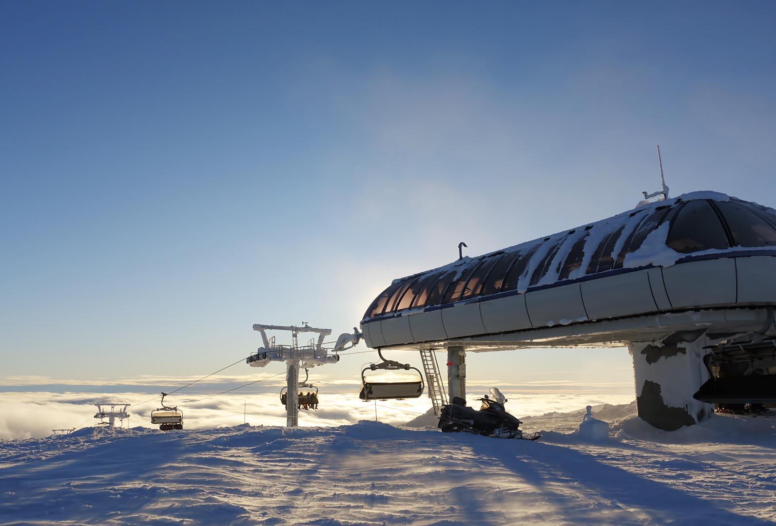 Skiheiser og baner