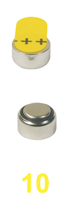 size 10 hearing aid batteries