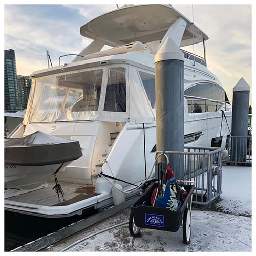 vancouver yacht cleaning