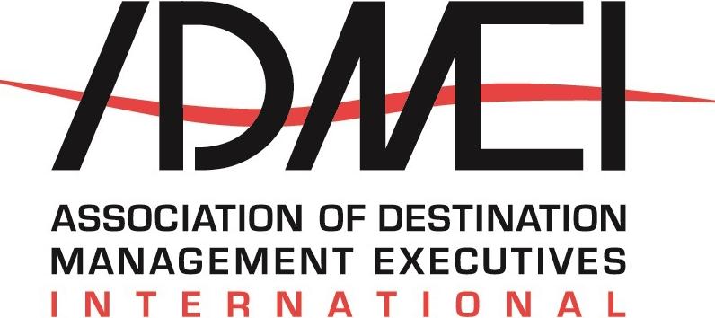 Logo for the Association of Destination Management Executives International.