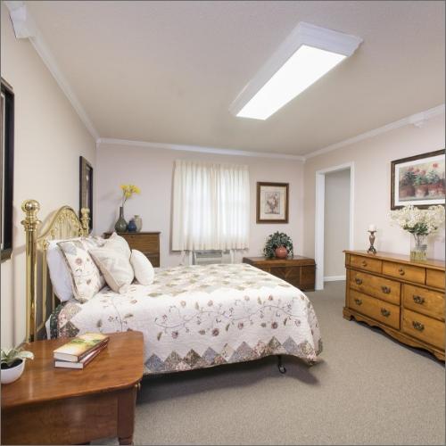 Farmington Presbyterian Manor Independent Living Apartment Bedroom