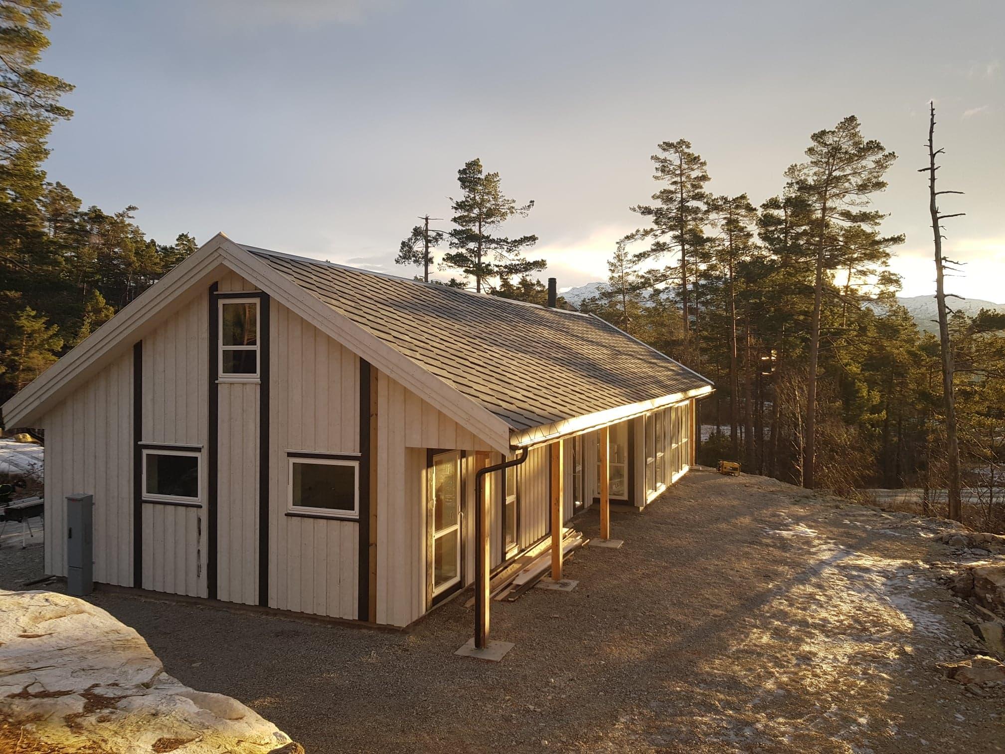 Hytte på Solland