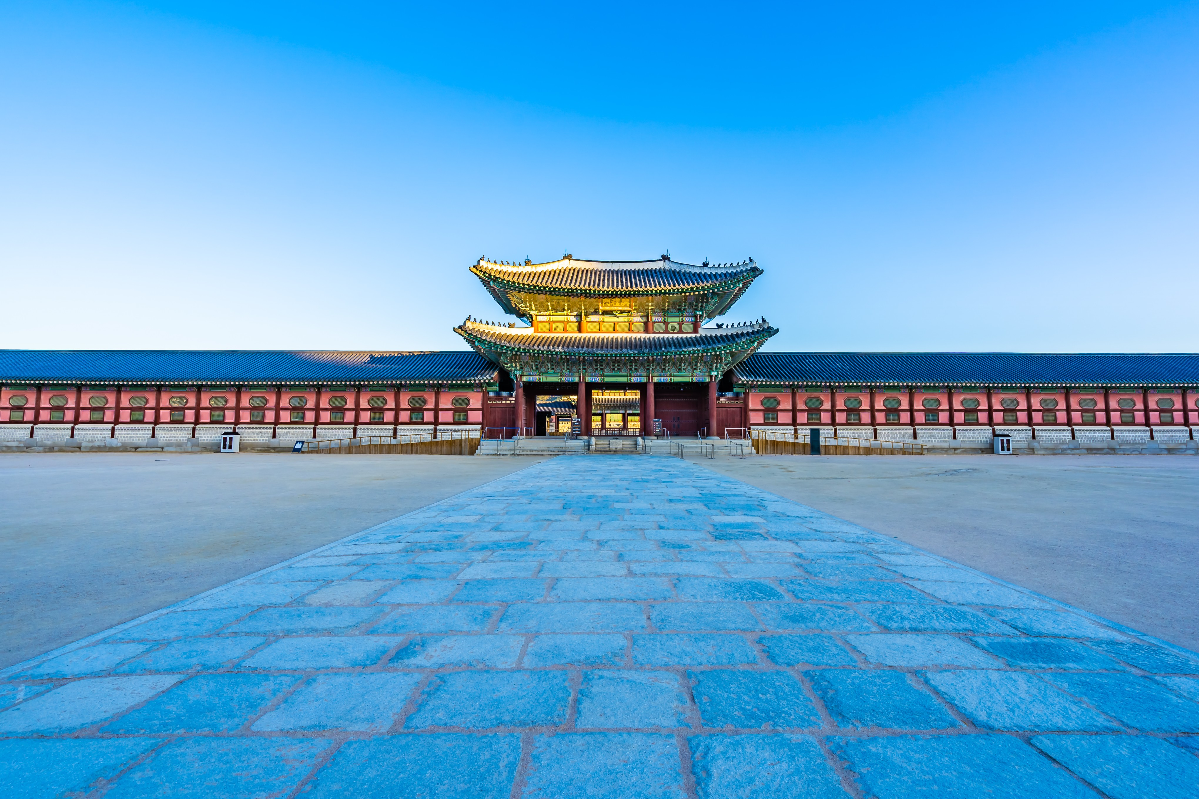 photo of a South Korean city