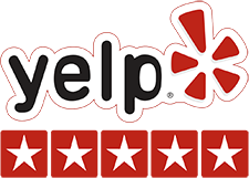 5-star rated on yelp