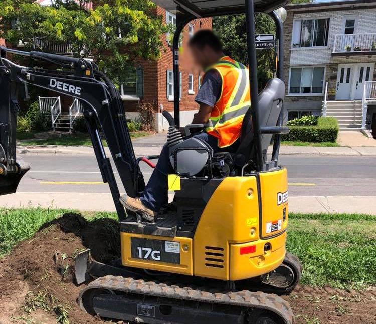 Excavation Montréal Laval