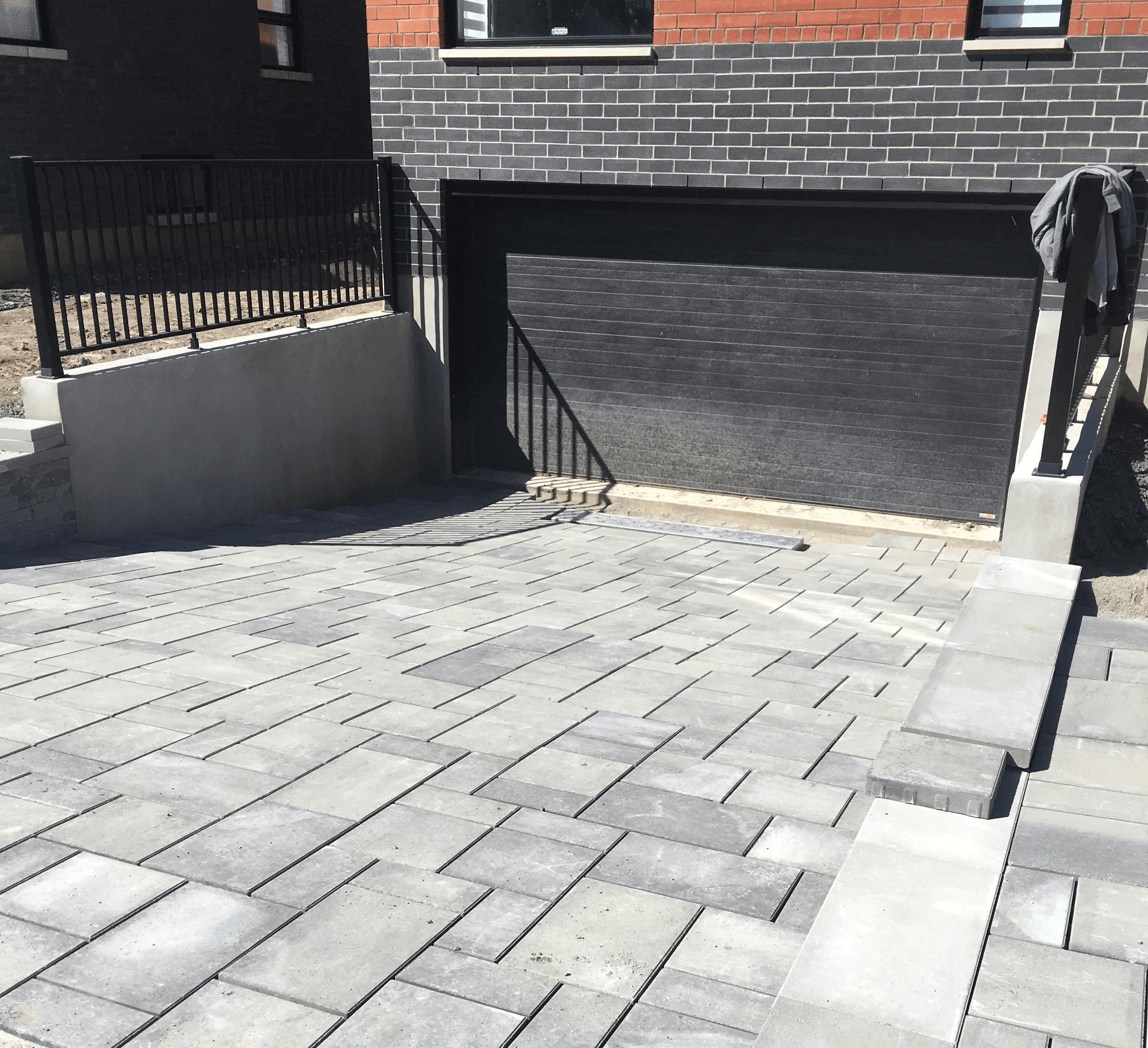 Plusieurs styles de pavés unis Montréal Laval