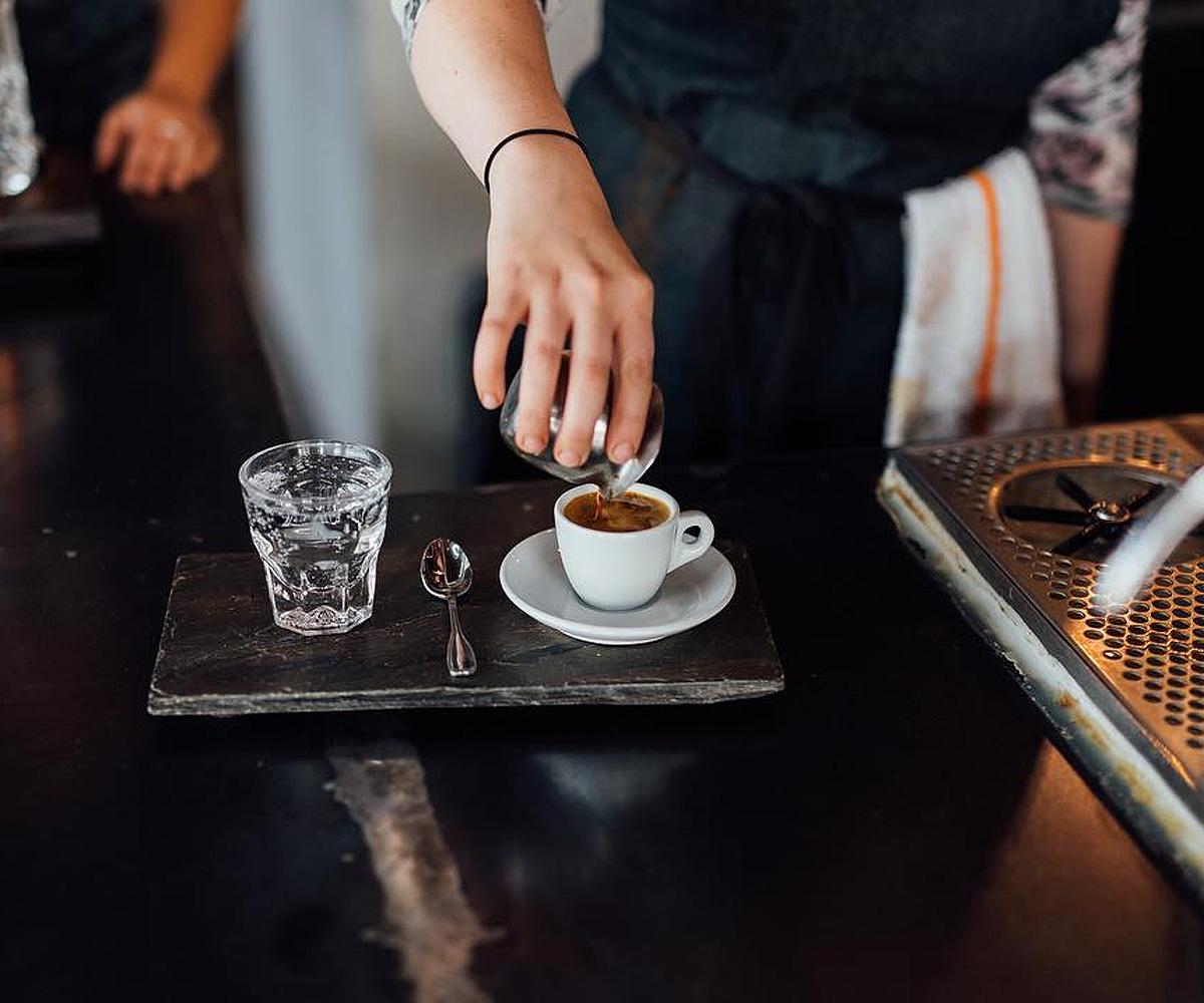 Corvus coffee esspresso
