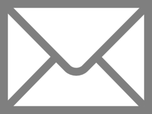 mail icon in grey