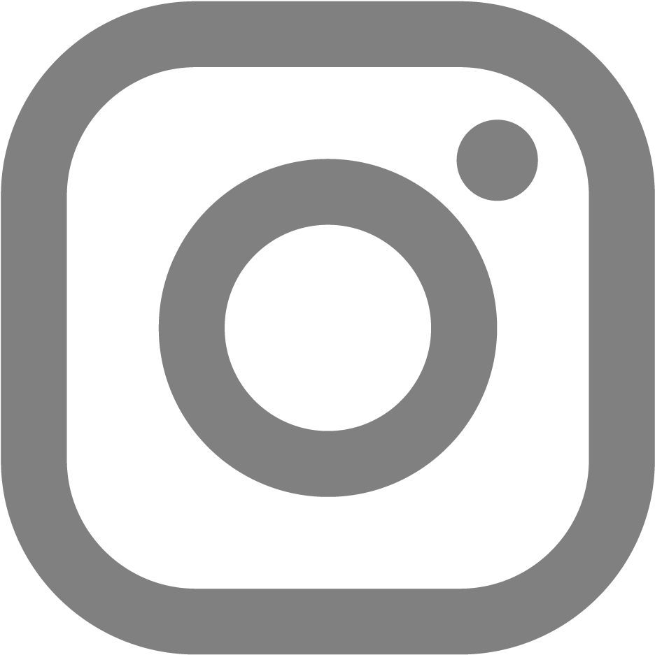 instagram logo in grey