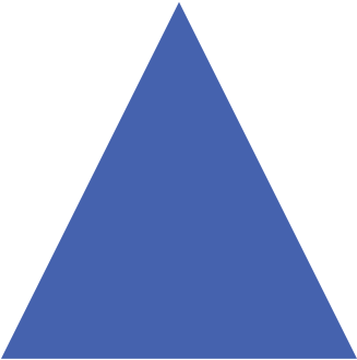 blue triangle icon