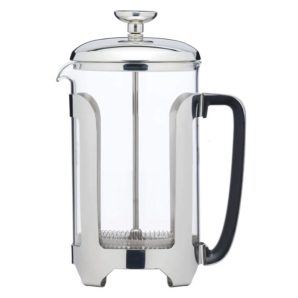 Le'Xpress Stainless Steel 6 Cup French Press Cafetiere
