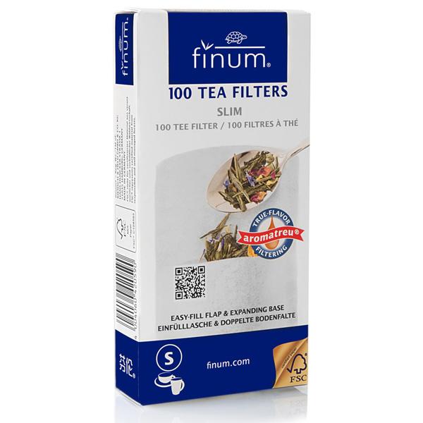 Finum White Tea Filters - Slim (100)