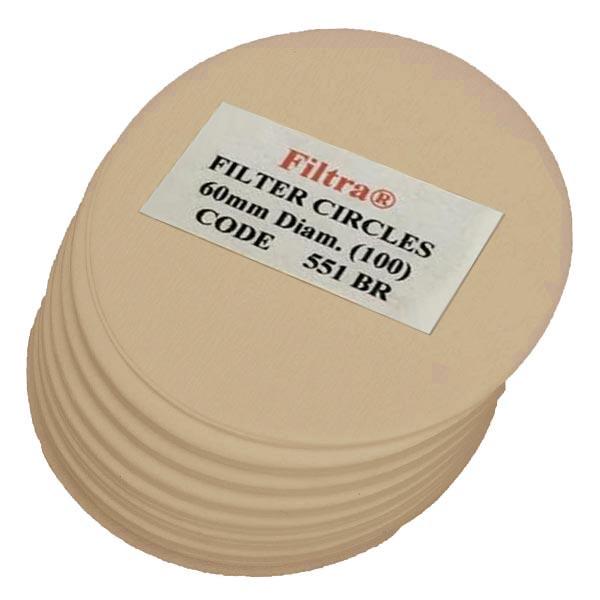 Filtra 60mm Discs Polybagged - U/B (100)