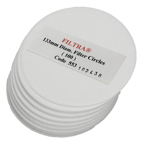 Filtra 133mm Discs - Polybagged (100)