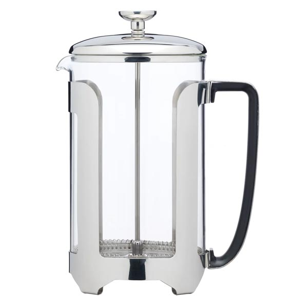 Le'Xpress Stainless Steel 12 Cup French Press Cafetiere