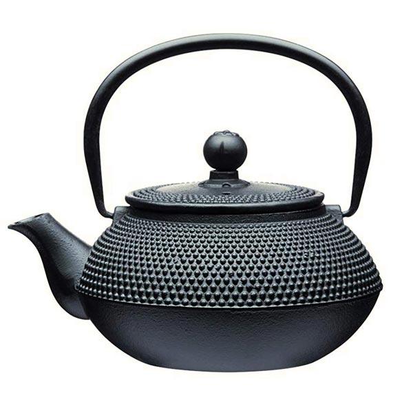 Le'Xpress Black Cast Iron Infuser Teapot (600ml)