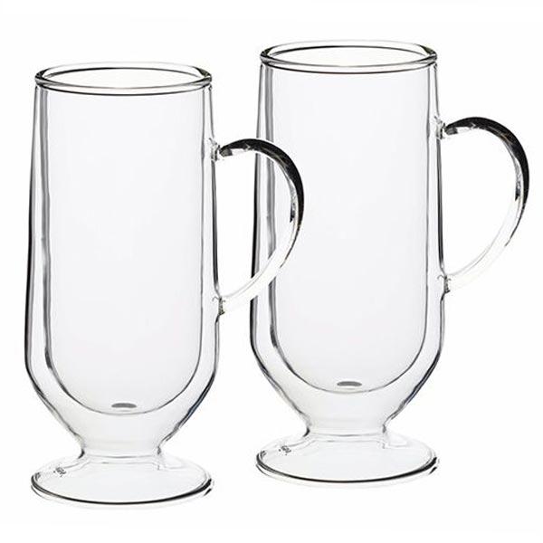 Le'Xpress Double Walled Latte Glasses