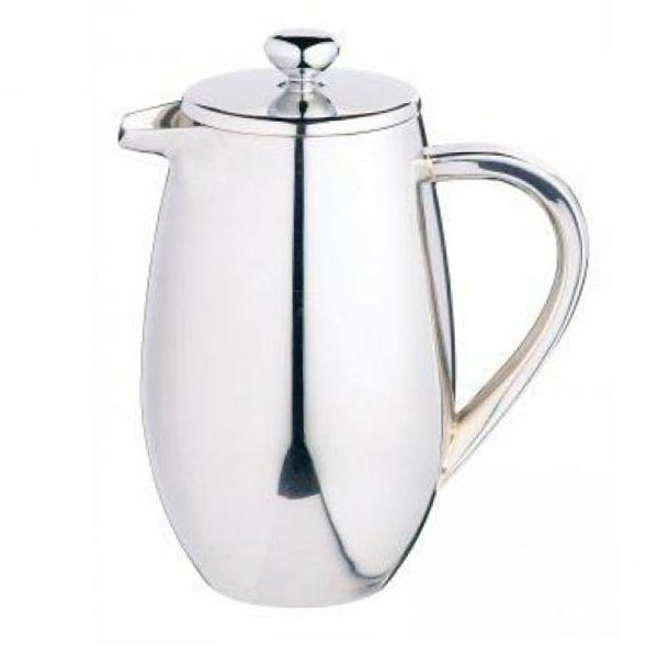 Le 'Xpress 3 Cup Double Walled Stainless Steel Cafetiere