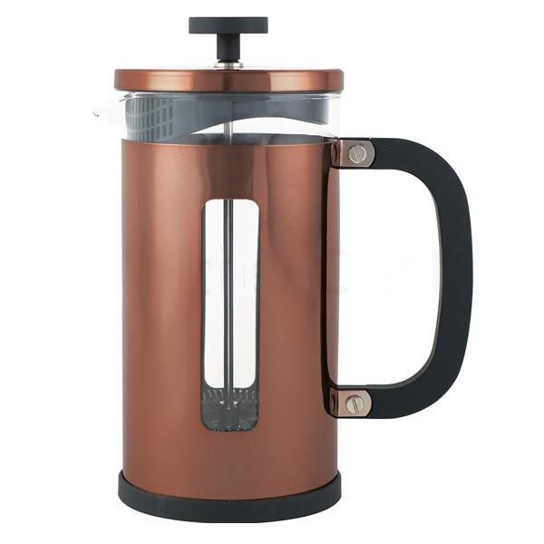 La Cafetiere Pisa 8 Cup Copper Cafetiere