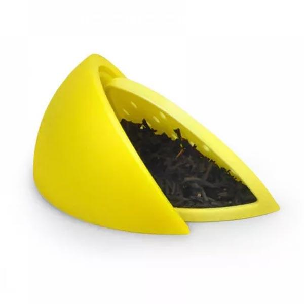 Fred Silicone Tea Infuser - Lemon Design