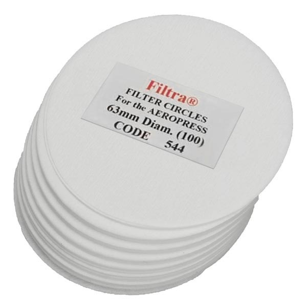 Filtra 63mm Discs Polybagged - White (100)
