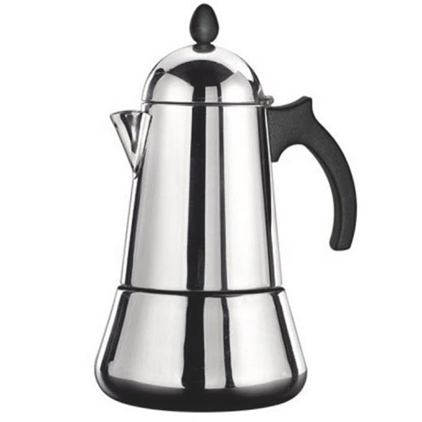 6 Cup Konica Stainless Steel Italian Induction Espresso Maker