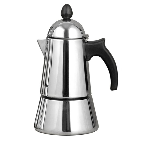 2 Cup Konica Stainless Steel Italian Induction Espresso Maker
