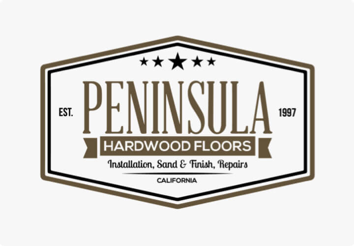 Hourly customer Peninsula Hardwood Floors logo