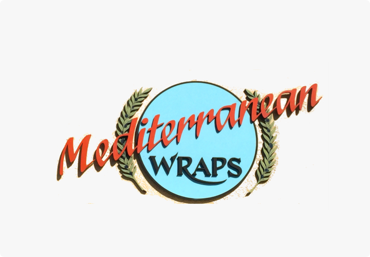 Hourly customer Mediterranean Wraps from Palo Alto, California