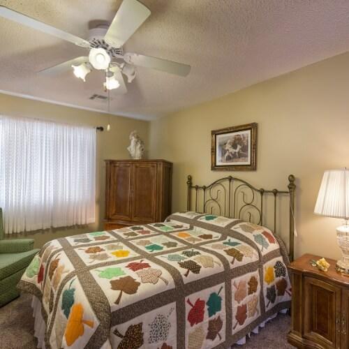 Independent Living Fort Scott Presbyterian Village Bedroom