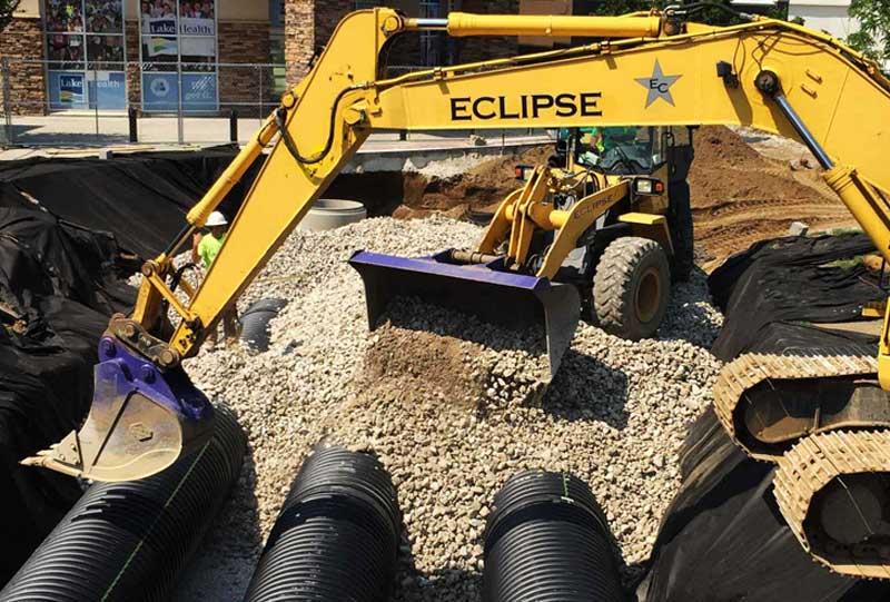 underground utilities construction