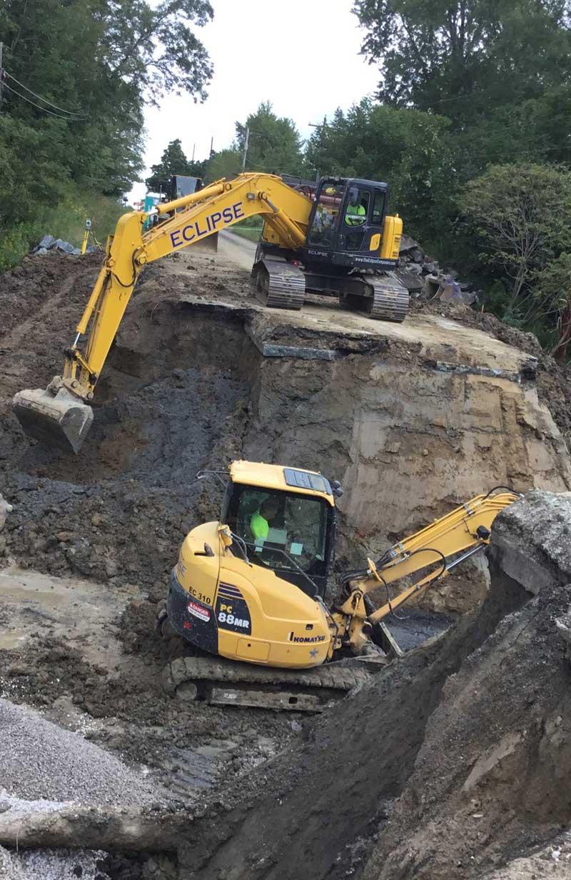 excavating contractor cleveland