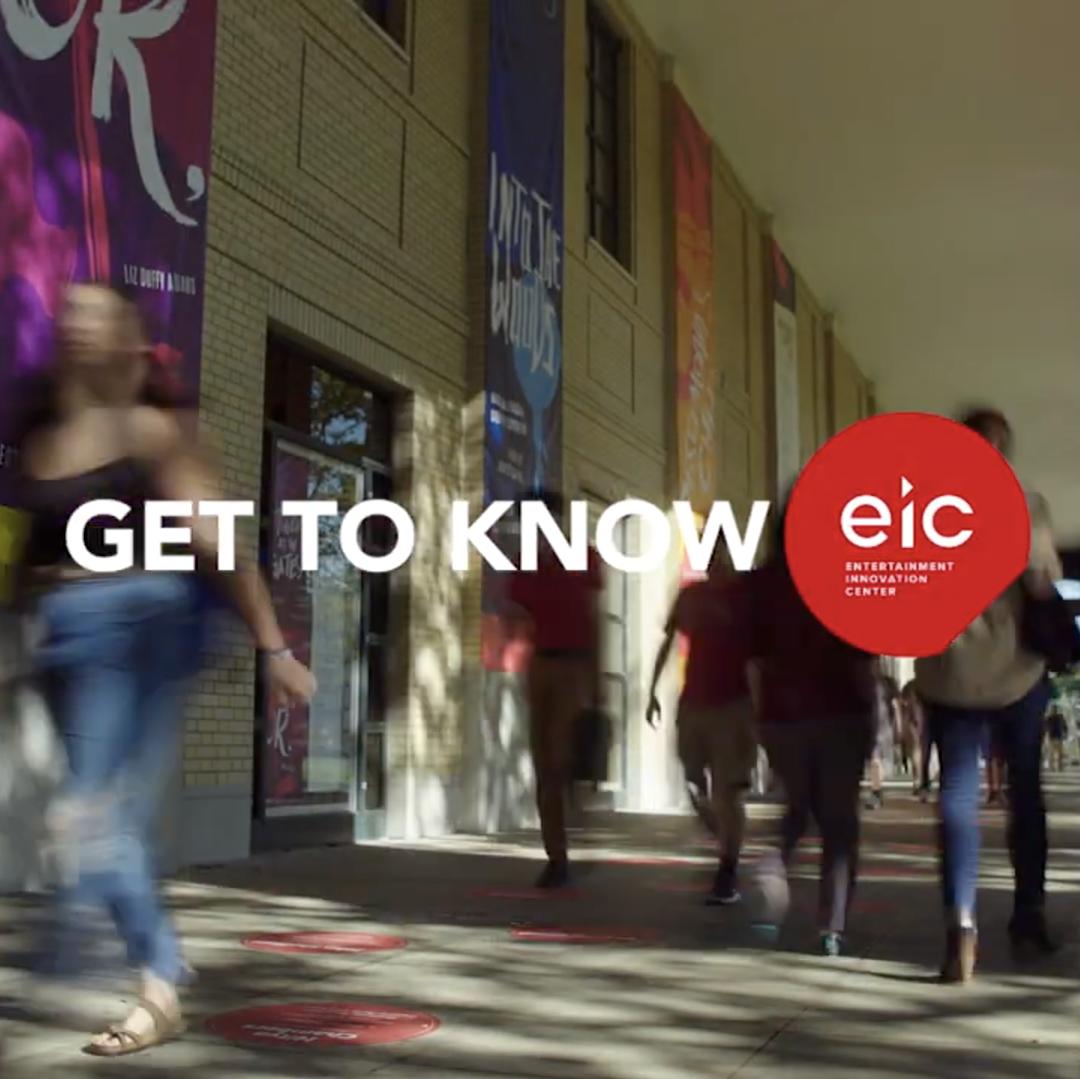 Get to know EIC หลักสูตรปริญญาโท นวัตกรรมบันเทิง