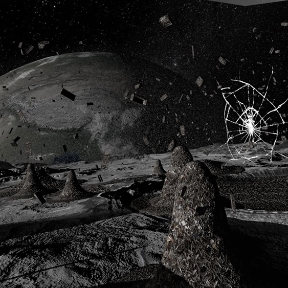 Fly Me 'To the Moon' with a Virtual Reality
