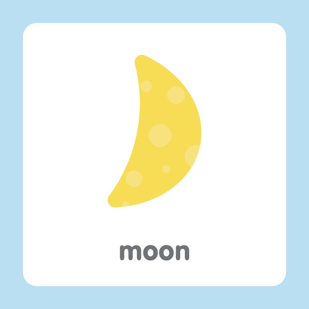 月亮 moon