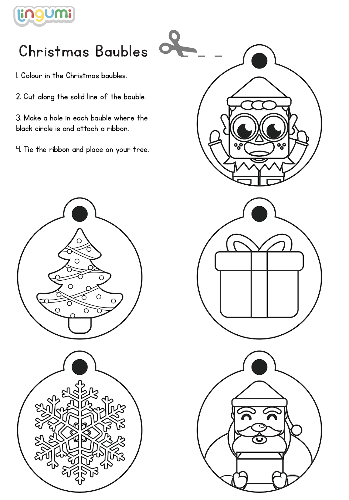 兒童聖誕節 英文活動