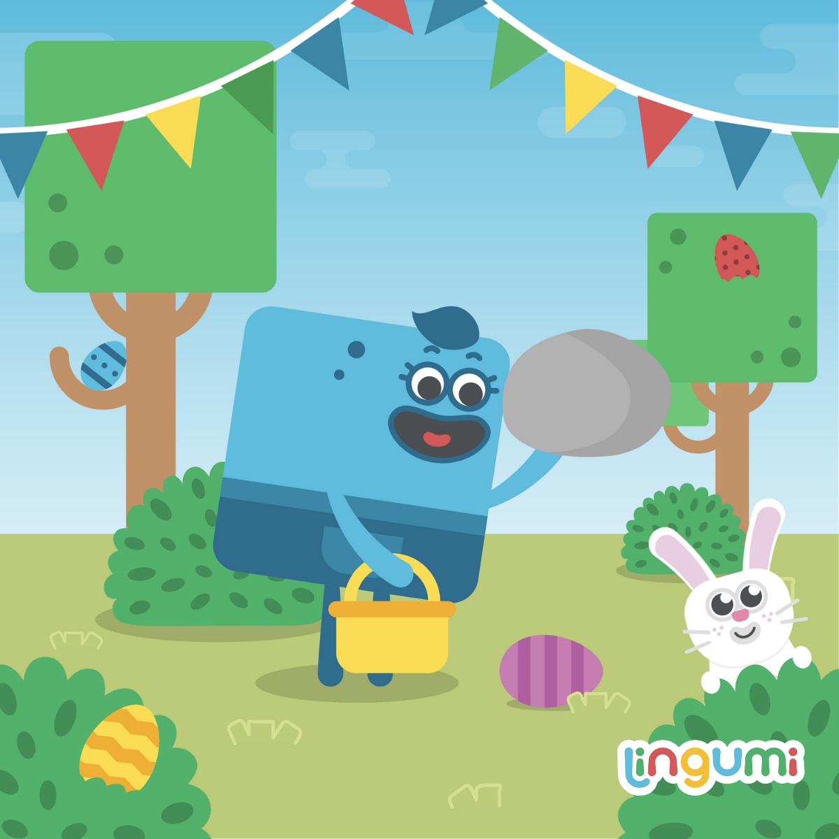 尋找復活節彩蛋 Easter egg hunt