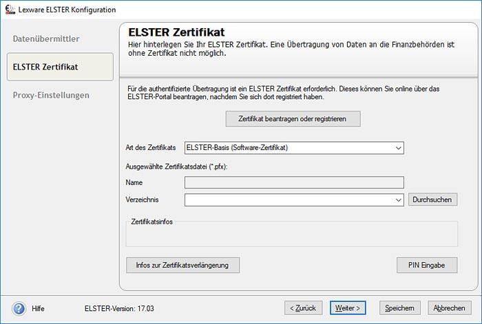 Lohn- und Gehaltsabrechnung Software Elster-Modul