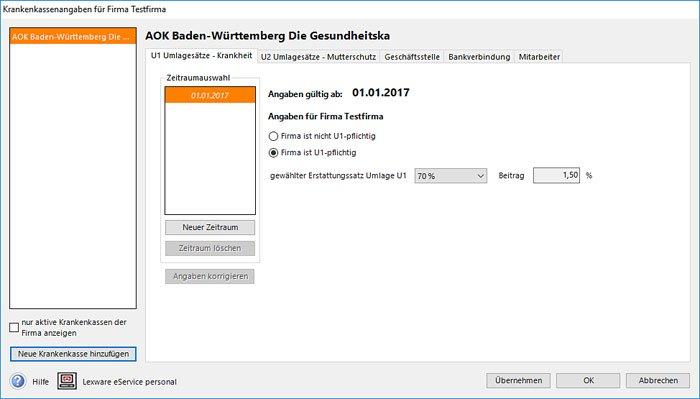 Gehaltsabrechnung Freeware mit Schnittstellenfunktion