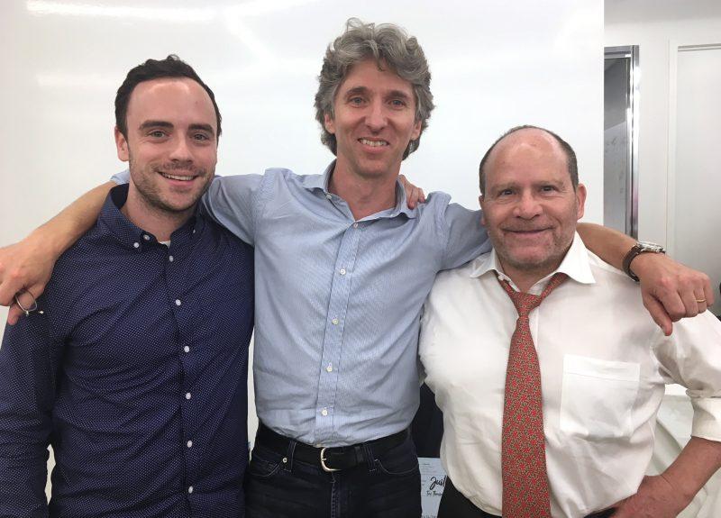 Ed McCabe, Damian Woetzel and Michael Loeb at Loeb NYC Speaker Series