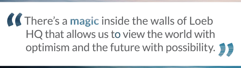 magic inside walls at loeb nyc