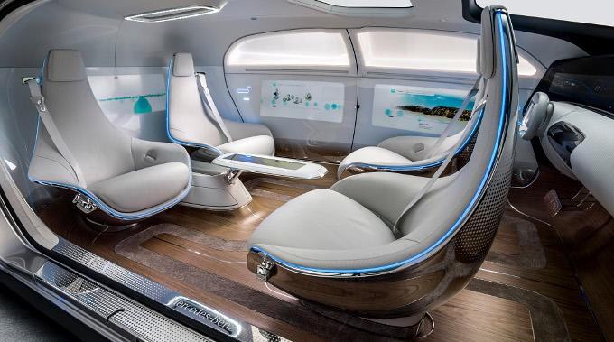 inside driverless cars