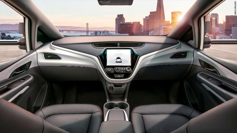 Interior driverless cars