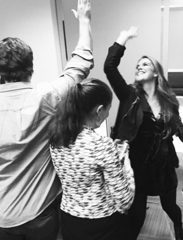 loeb nyc employees high five