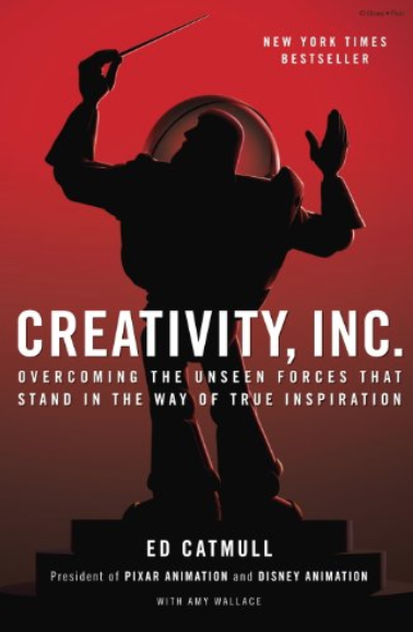 Creativity, Inc. Book Cover Ed Catmull