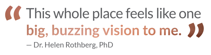 helen rothberg quote loeb nyc vision